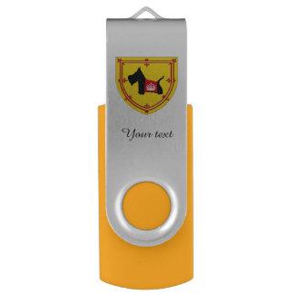 スコッチテリア8王室のな王冠無し USBフラッシュドライブ