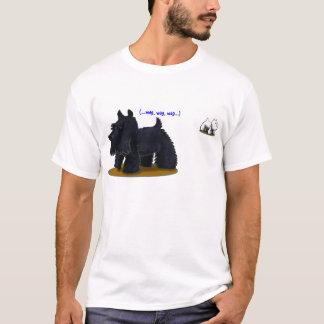 スコッチテリア(…おどけ者、おどけ者、おどけ者…) Tシャツ