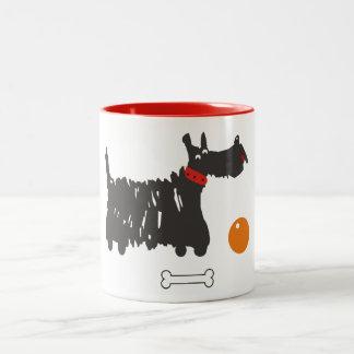 スコッチテリア ツートーンマグカップ