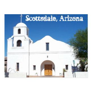 スコッツデールアリゾナの古い代表団の郵便はがき西米国 ポストカード