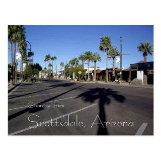 スコッツデール、アリゾナの郵便はがき ポストカード