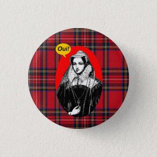 スコットのタータンチェックの独立メリースコットランドの女王 3.2CM 丸型バッジ
