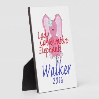 スコットの歩行者2016年 フォトプラーク