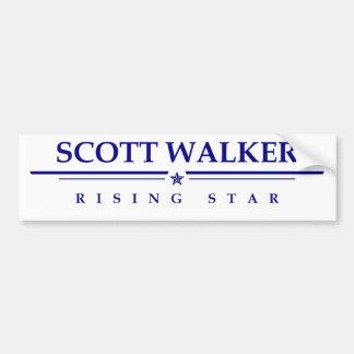 スコットの歩行者: 上昇の星 バンパーステッカー