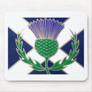 スコットランドおよびアザミの旗 マウスパッド