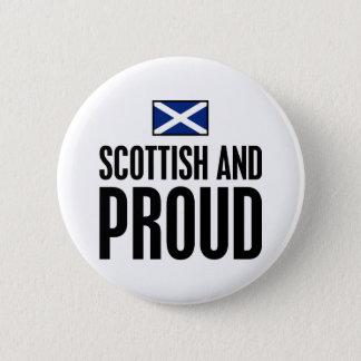 スコットランドおよび誇りを持った 缶バッジ