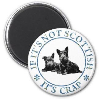 スコットランドでなければ、それはがらくたです マグネット