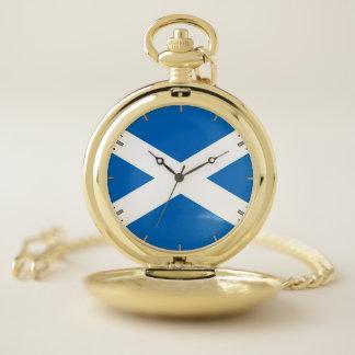 スコットランドのが付いている愛国心が強い壊中時計 ポケットウォッチ