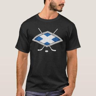 スコットランドのアイスホッケーのロゴ Tシャツ