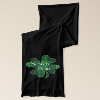 スコットランドのアイルランドのシャムロック スカーフ