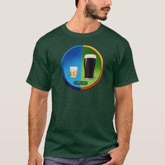 スコットランドのアイルランドメンズ緑 Tシャツ