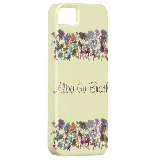 スコットランドのアザミのゲール族のアルバのグウBrathの私電話箱 iPhone SE/5/5s ケース
