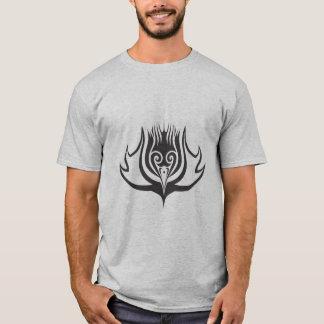 スコットランドのアザミのtatooのデザイン tシャツ