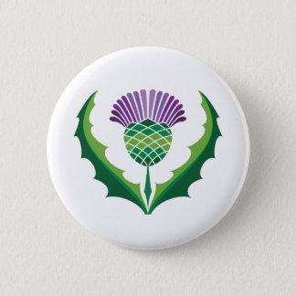 スコットランドのアザミボタン 缶バッジ