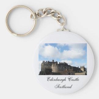 スコットランドのエジンバラの城 キーホルダー