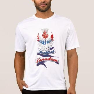 スコットランドのカナダのアザミ Tシャツ
