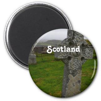 スコットランドのケルト十字 マグネット