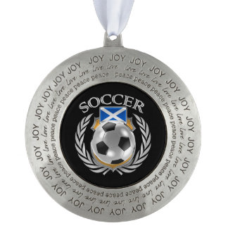 スコットランドのサッカー2016ファンのギア オーナメント