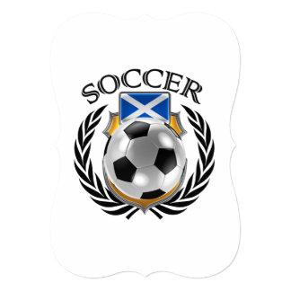スコットランドのサッカー2016ファンのギア カード
