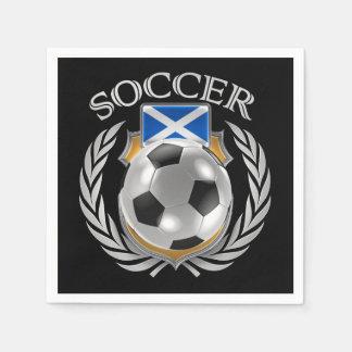 スコットランドのサッカー2016ファンのギア スタンダードカクテルナプキン