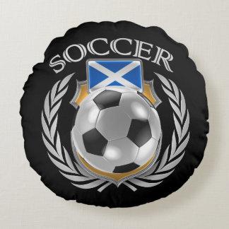スコットランドのサッカー2016ファンのギア ラウンドクッション