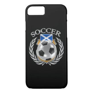 スコットランドのサッカー2016ファンのギア iPhone 8/7ケース