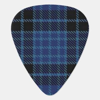 スコットランドのタータンチェックのスコットランドの聖職者の音 ギターピック