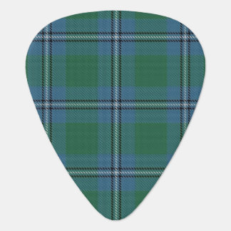 スコットランドのタータンチェックの一族のアーヴァインIrwinの音 ギターピック