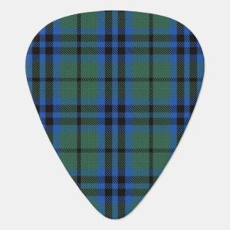 スコットランドのタータンチェックの一族のキースの音 ギターピック