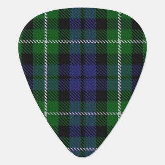 スコットランドのタータンチェックの一族のグラハムの音 ギターピック