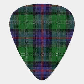 スコットランドのタータンチェックの一族のサザランドの音 ギターピック