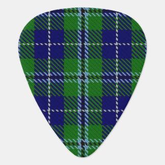 スコットランドのタータンチェックの一族のダグラスの音 ギターピック