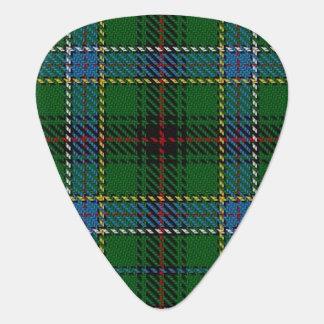 スコットランドのタータンチェックの一族のダンカンの音 ギターピック