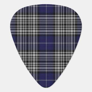 スコットランドのタータンチェックの一族のナピアの音 ギターピック