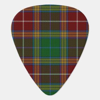 スコットランドのタータンチェックの一族のバックスターの音 ギターピック