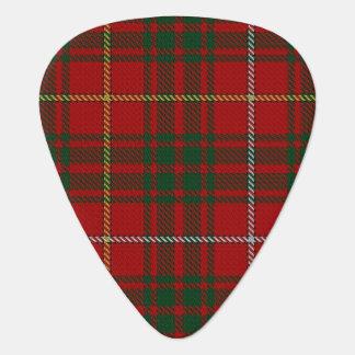 スコットランドのタータンチェックの一族のブルースの音 ギターピック