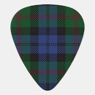 スコットランドのタータンチェックの一族のベアードの音 ギターピック