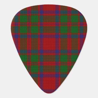 スコットランドのタータンチェックの一族のマッキントッシュの音 ギターピック