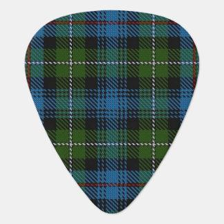 スコットランドのタータンチェックの一族のマッケンジーの音 ギターピック