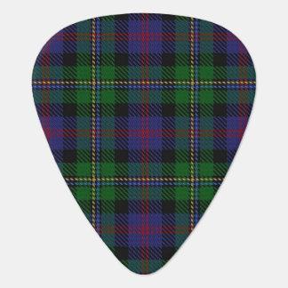 スコットランドのタータンチェックの一族のマルコムの音 ギターピック