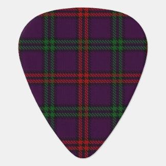 スコットランドのタータンチェックの一族のモントゴメリーの音 ギターピック