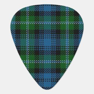 スコットランドのタータンチェックの一族のライオンの音 ギターピック