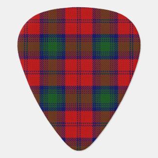 スコットランドのタータンチェックの一族のリンジーLindseyの音 ギターピック