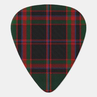 スコットランドのタータンチェックの一族のCummingの狩りの音 ギターピック