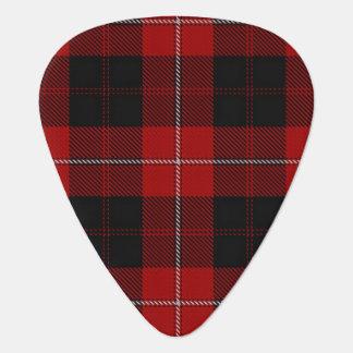 スコットランドのタータンチェックの一族のCunninghamの音 ギターピック