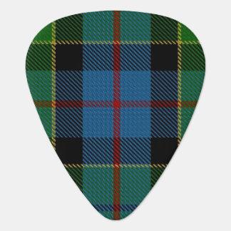 スコットランドのタータンチェックの一族のForsyth Forsytheの音 ギターピック