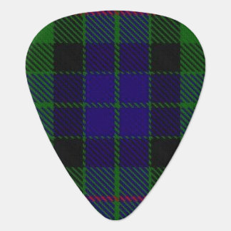 スコットランドのタータンチェックの一族のGunnの音 ギターピック