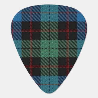 スコットランドのタータンチェックの一族のGuthrieの音 ギターピック