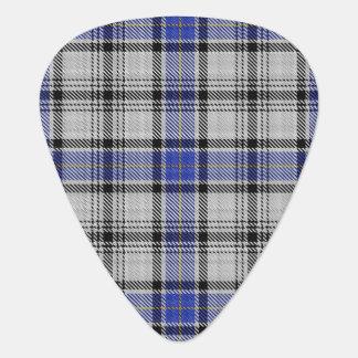 スコットランドのタータンチェックの一族のHannayの音 ギターピック