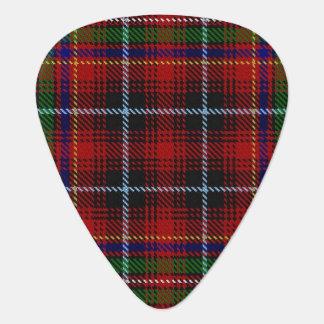 スコットランドのタータンチェックの一族のInnesの音 ギターピック